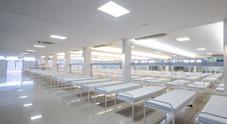 FCA realizza ospedali da campo in Brasile. In sette giorni costruito nell'ex club ricreativo a Betim