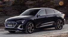 e-tron Sportback, al via gli ordini del Suv coupé. Secondo modello della gamma elettrica di Audi