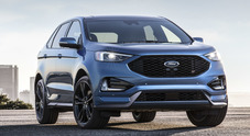 Evolve la Ford Edge, nuovo look e più contenuti high tech. Debutto per la grintosa versione ST