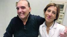 Trapianto di rene, «Mia moglie Roberta mi ha salvato la vita, le devo tutto»