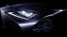 Lexus IS, il debutto al Salone di Pechino potrebbe svelare la variante fuel cell a idrogeno
