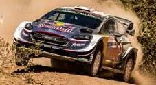 Ogier vuole riprendere la testa della classifica. Il pilota Ford punta al 4° successo in Sardegna