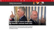 Napoli-Ancelotti fa il giro del mondo: il colpo azzurro sulla stampa estera