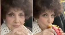 Gina Lollobrigida sbarca a 91 anni su Instagram «Dopo il vaccino... mangio!»