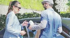 Buffon e Alena Seredova volti scuri all'incontro a 4 anni dalla separazione