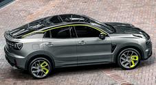 Link & Co, il Suv coupé 05 ibrido su base Volvo presto in Europa. Geely lo venderà prima in Cina