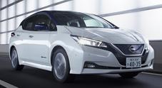Nissan, l'auto a pedale. Nella 2^ generazione della Leaf l'acceleratore gestisce andatura e frenata