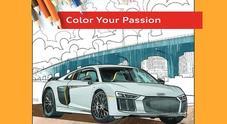 Mercedes e Audi regalano ai più piccoli disegni da colorare. Pdf da stampare per passare il tempo con matite e pennarelli