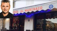 Il locale e Marco Azzan