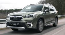 Subaru Forester e-Boxer, alla scoperta del crossover ibrido a trazione integrale