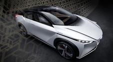 Nissan IMx, svelato a Tokyo il crossover autonomo a zero emissioni
