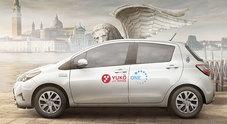 """Da """"Yuko with Toyota"""" buono sconto di 50 euro ai veneziani che vogliono usufruire del car sharing ibrido"""