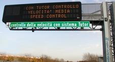 Multe più difficili per eccesso di velocità: la tolleranza del Tutor sale al 15%