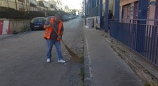 «Io, spazzino volontario in cambio del Reddito»