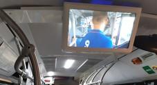 Al via l'installazione dei monitor di  bordo su 217 autobus cittadini