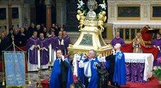La processione del mento del Santo