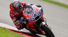 Test Sepang: vola la Honda di Pedrosa, poi le Ducati di Dovizioso e Lorenzo. 6° Valentino