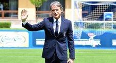 Nazionale, primo giorno di lavoro per il ct Mancini: si valutano Immobile e Zaza, out Bernardeschi