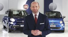 Napolitano: «Famiglia 500, la piccola iperconnessa: versione Mirror per la Fiat più globale»