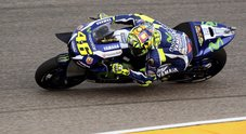 Gp di Aragon, dominio Honda nelle libere: Pedrosa, Marquez e Crutchlow. Rossi quarto, Iannone non ce la fa