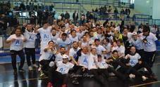 La storica promozione del Futsal Fuorigrotta in serie A2