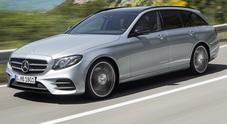 La signora in lungo, Mercedes lancia la wagon della nuova Classe E