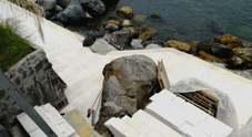 Mega villa abusiva a picco sul mare sequestrata dalla polizia a Ischia