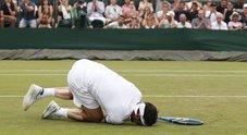 Wimbledon, Fognini sconfitta e rabbia