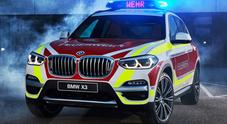 """Bmw e Mini """"speciali"""" per pompieri e polizia: Suv di lusso e versione JWC per forze dell'ordine"""