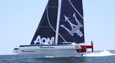 Un guasto alla vela non ferma Maserati Multi 70 e Soldini. Vittoria e record nella RORC Caribbean 600