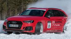 Performance e affidabilità, le Audi RS4 Avant si esaltano alla 20quattro ore delle Alpi 2018