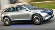 Rivoluzione elettrica Mercedes con il concept Suv Generation EQ