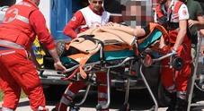Monsampolo, chiuso raccordo dell'A14 Due feriti gravi in un tamponamento