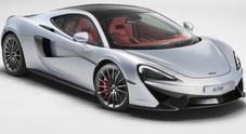 McLaren 570GT, supercar potente e aggressiva ma anche funzionale e chic