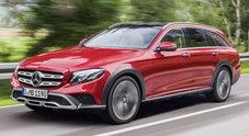 Mercedes Classe E 4Matic All Terrain, l'anima avventurosa della Stella