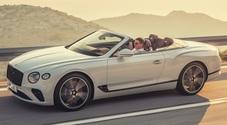 Bentley Continental GT Convertible, al volante della cabrio più veloce che c'è