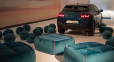 Citroen alla Design Week con #Cactus4Comfort: l'auto diventa un salotto