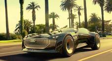 Audi Skysphere concept, la supercar del futuro dalle due anime