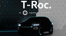 Volkswagen T-Roc, Lapo reinventa lo stile del nuovo Suv compatto. Count down per le due versioni firmate Garage Italia Custom