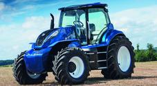 Svolta per l'agricoltura compatibile: da New Holland il concept d'un trattore a metano