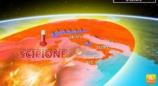Meteo, arriva Scipione e porta il grande caldo Termometro sui 30 gradi