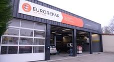 Groupe Psa, apre in Italia la 400esima officina Eurorepar. Campagna pubblicitaria per celebrare evento