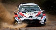 Rally Argentina, Tänak (Toyota) subito in testa. Inseguono Neuville (Hyundai) e Meeke (Toyota)