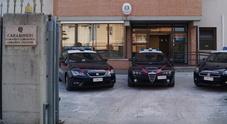 La caserma dei carabinieri di Bassano del Grappa