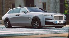 Rolls-Royce Ghost Wagon, insolita proposta per milionari. Per ora è solo un progetto del designer Rain Prisk