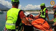 Turista francese morto in Cilento, recuperato il corpo nel burrone