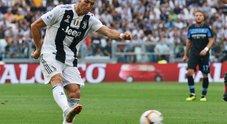 Juventus-Lazio, le foto della partita