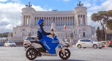 Cityscoot, sbarca a Roma il nuovo servizio di scooter sharing: gratis i primi 30 minuti