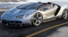 Alla Monterey Week riflettori puntati sulla Lamborghini Centenario Roadster