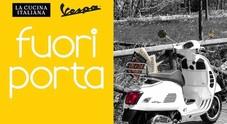 """Con Vespa """"Fuori porta"""" per riscoprire gastronomia italiana. Al Museo di Pontedera mostra nel segno dell'iconico scooter"""